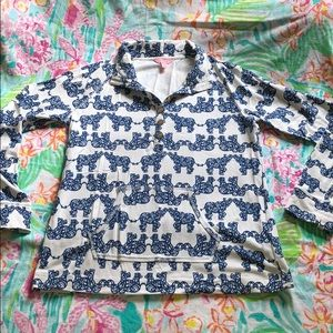 Lilly Pulitzer Pack Your Trunks Captain Popover